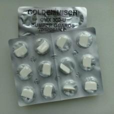 Steriloitava suojasilikoni ylä 3-molaari (24 kpl)