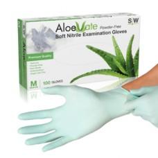Aloe Vate nitriili kertakäyttökäsineet