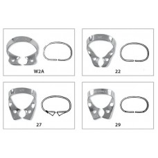 Fit Rubberdam Bicuspid Clamps wingless