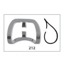 Fit Rubberdam Ivory-style Clamps cervical