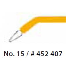 Sähköveitsen kärki #15